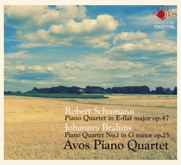 Avos Piano Quartet: Schumann & Brahms op.25